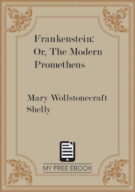 Frankenstein: Or, The Modern Prometheus by Mary Wollstonecraft Shelly